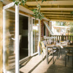 Terrasse 2 - Location Bungalow Cottage Seignosse Hossegor Landes de 5 à 6 personnes